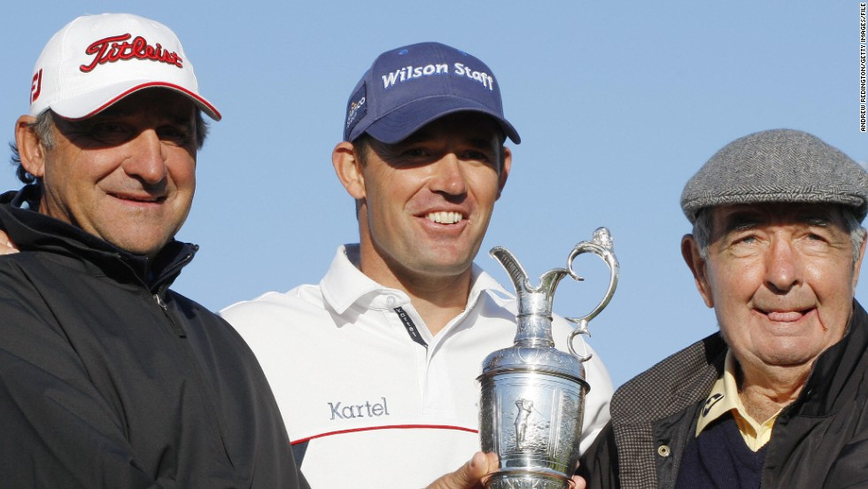Dr. Bob Rotella (left) has worked with some of golf's biggest names on the mental side of what can be a very lonely pursuit. His prowess has helped plenty of players realize their dreams, like three-time major champion Padraig Harrington of Ireland (center).