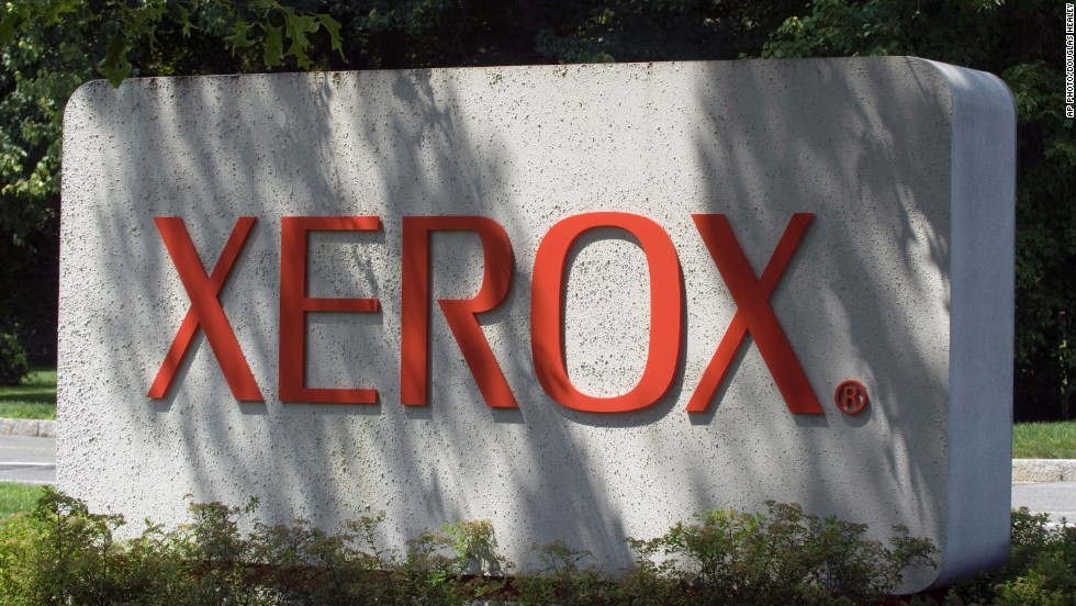 The Xerox logo from 1971 to 2008.