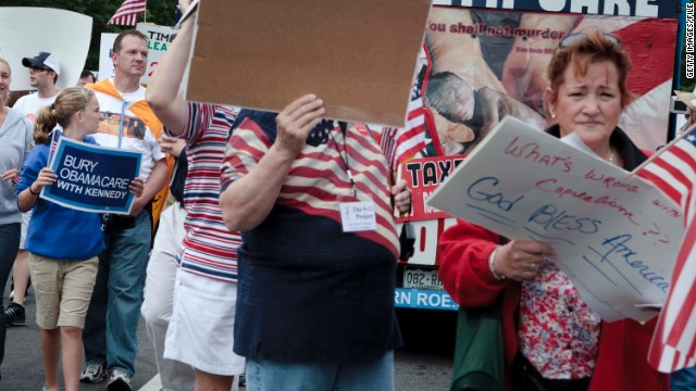 Was the Tea Party pushed out?