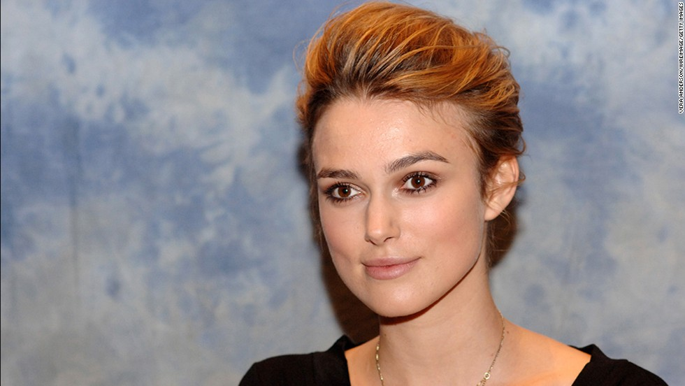 "Keira Knightley's has grazed past her shoulders, but in 2004 she chopped it off into a pixie for the movie <a href=""http://www.imdb.com/title/tt0421054/"" target=""_blank"">""Domino.""</a>"