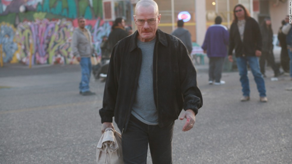 This scene from Season 1 offers one of the first glimpses into how smart and ruthless Walter White (Cranston) can be when cornered. Here, Walt leaves with a bag of cash after igniting an explosion at the lair of Tuco, a midlevel meth dealer.