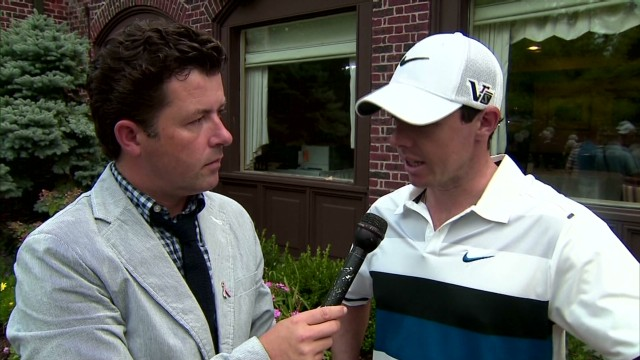 Rory McIlroy reflects on opening round