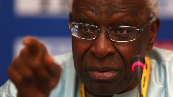 """Senegal's Lamine Diack, former president of the IAAF, is being investigated  by French police over claims he accepted bribes to defer sanctions against drug cheats from Russia. French prosecutors claim he took """"more than €1 million ($1M)"""" for his silence. Diack has yet to comment."""