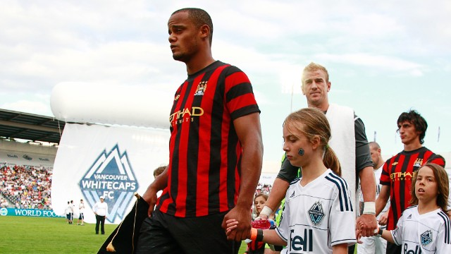 Kompany on grooming the next generation