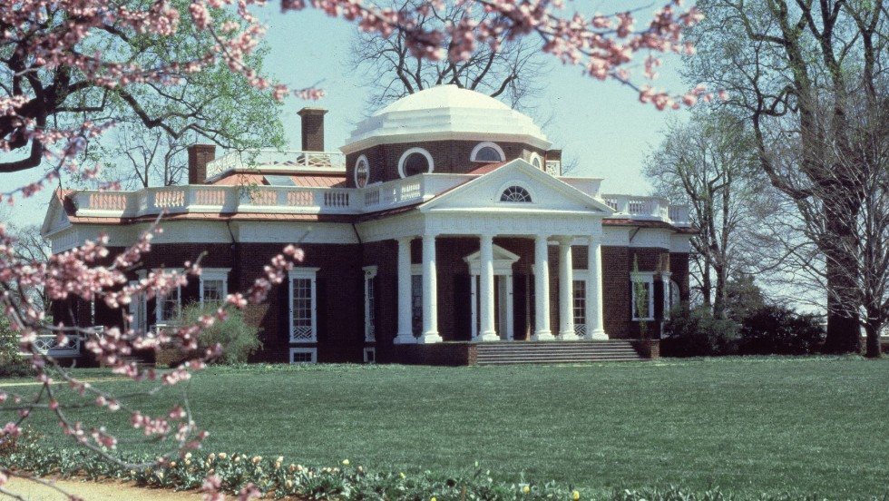 President Thomas Jefferson liked to spend time at Monticello, his home in Virginia. In 1805, he spent nearly four months there while in office.