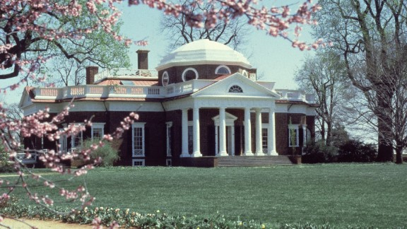 President Jeffersion liked to spend time at Monticello, his home in Virginia.  In 1805 he spent nearly four months, from mid-July until October, there while in office.