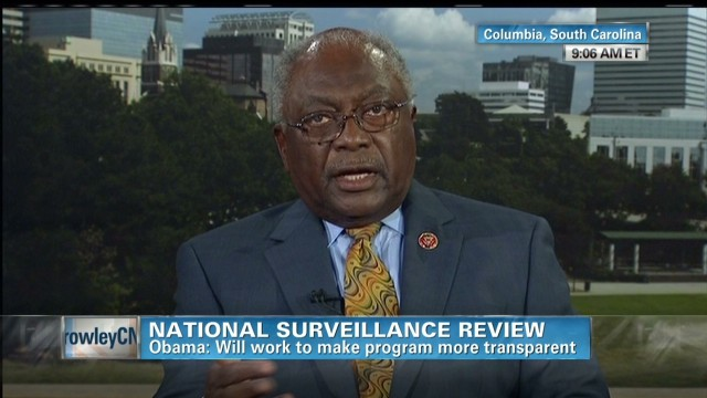 Clyburn: No 'blank check' for the NSA