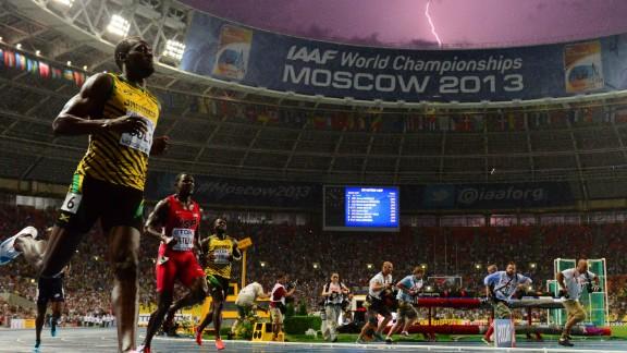 Lighting strikes as Jamaica