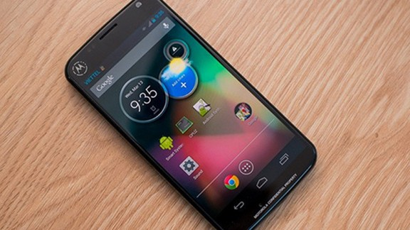 Google has sold Motorola to Lenovo, but the Moto X still has its admirers. The Moto X claims to be the first phone manufactured in the U.S. Hands-free voice controls allow you to operate the phone without touching it -- a handy trick if you
