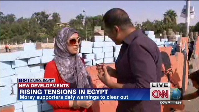 Tensions rising in Egypt