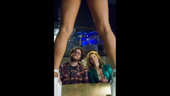 """The title of the 2008 film """"Zack and Miri Make a Porno"""" sort of says it all. Seth Rogen and Elizabeth Banks star as a pair of roomies who decide to make a porn film to pay their bills."""