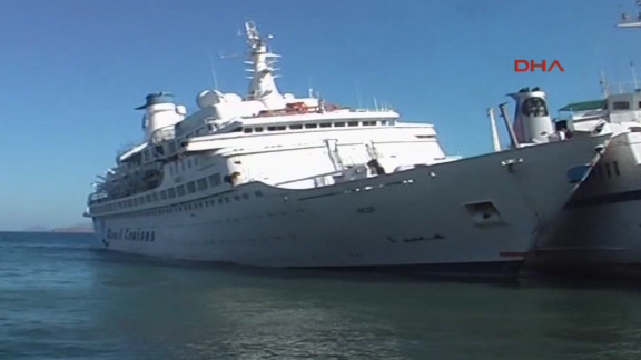 """After the popular TV show ended, """"The Love Boat"""" vessel was renamed and went on tours on the Mediterranean Sea."""