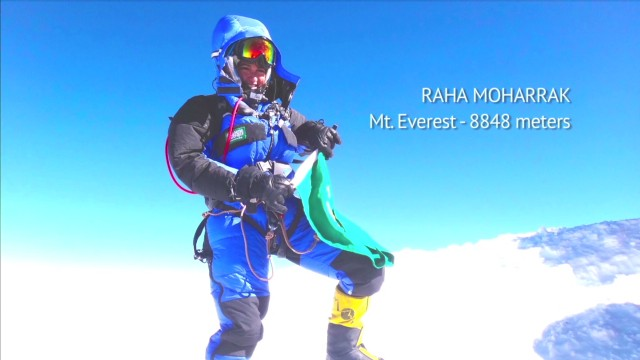 Saudi woman makes Mount Everest history
