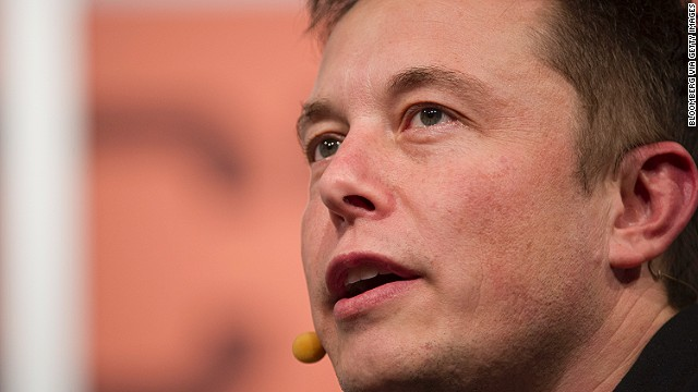 Tesla Motors and SpaceX CEO Elon Musk says he was inspired to look into Hyperloop after being disappointed with high-speed rail plans in California.