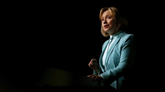 Former Secretary of State Hillary Clinton delivered a pointedly political speech to the American Bar Association