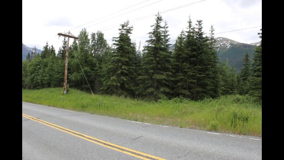 Keyes also had a cache location on Eagle River Road in Alaska.