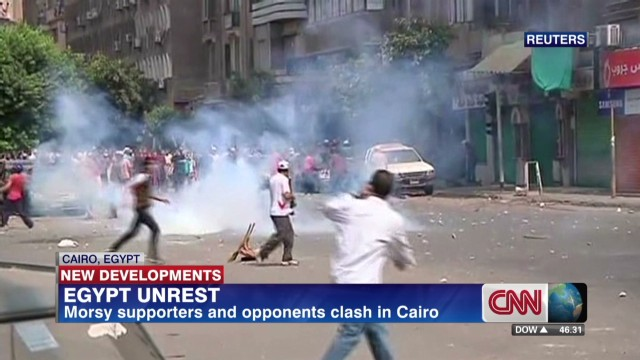 Clashes continue in Egypt