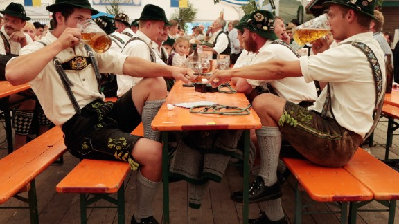 Got dextrous digits? Join the competitors at the annual Bavarian finger wrestling championships (also known as Fingerhakeln) in Feldkirchen-Westerham, Germany. The sport dates back to the 17th century.