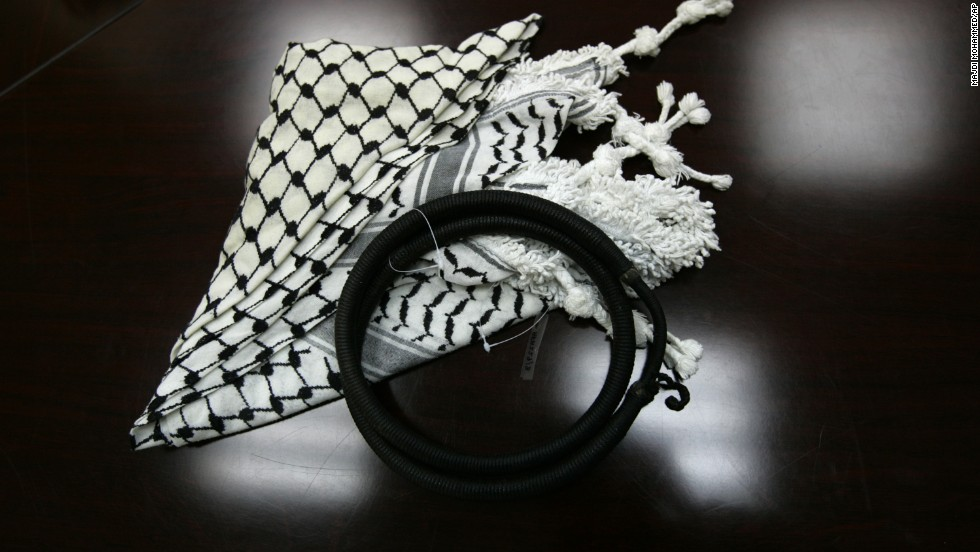 "In 2009, a <a href=""http://www.alarabiya.net/articles/2009/02/19/66802.html"" target=""_blank"">Pennsylvania high school banned students from wearing the keffiyeh</a>, a traditional scarf often worn in the Middle East, in hopes of lessening racial tensions. Alarabiya.net reported that the school reversed the ban a day later."