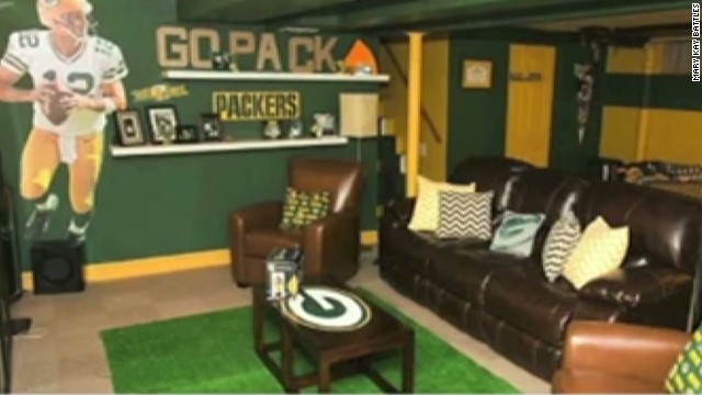 Green Bay Packers Room Ideas