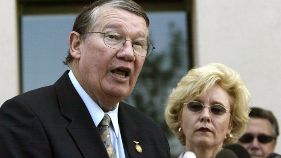 "Former U.S. Rep. Randy ""Duke"" Cunningham, R-California, was sentenced to eight years in prison in 2006 after he was convicted of collecting $2.4 million in homes, yachts, antique furnishings and other bribes on a scale unparalleled in the history of Congress."