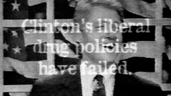 A television ad aired in 1996 by Republican presidential candidate Bob Dole