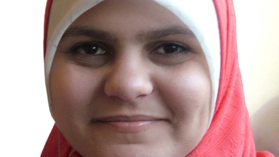 Habiba Ahmed Abd Elaziz exchanged texts with her mother before being killed in Cairo.