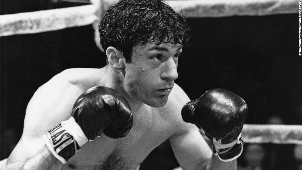 "For his role as Jake LaMotta in 1980's ""Raging Bull"" -- directed by Scorsese -- De Niro gained 60 pounds."