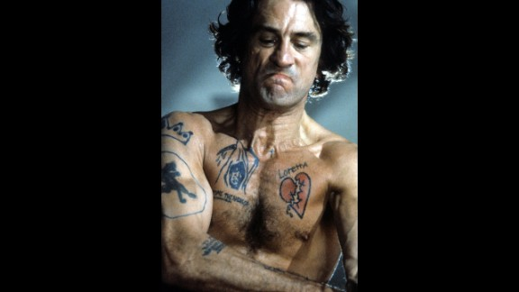 """De Niro and Scorsese remade the chilling """"Cape Fear"""" in 1991. De Niro plays Max Cady, who stalks a family after being released from prison."""