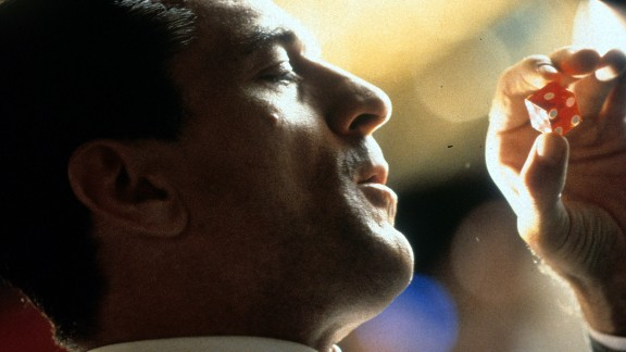 """In """"Casino,"""" De Niro plays a Mafia-controlled executive who finds trouble while managing a Las Vegas gaming palace."""