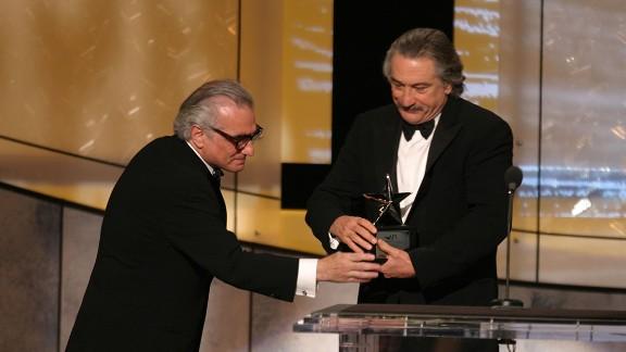 In 2003, De Niro received the American Film Institute's 31st lifetime achievement award.