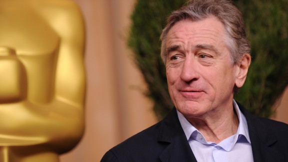 """De Niro has been nominated for Oscars seven times and won twice. He earned a best supporting actor nod for """"Silver Linings Playbook."""""""