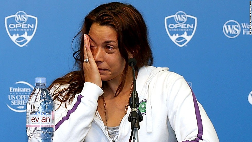 Wimbledon champion Marion Bartoli made a shock decision to quit tennis after losing her opening match at the Cincinnati Open on August 14.