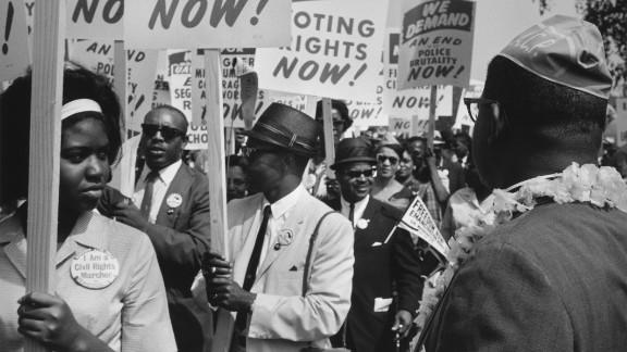 Ten leaders of the civil rights movement met with President John F. Kennedy, Vice President Lyndon B. Johnson, Labor Secretary W. Willard Wirtz and Burke Marshall, head of the Justice Department