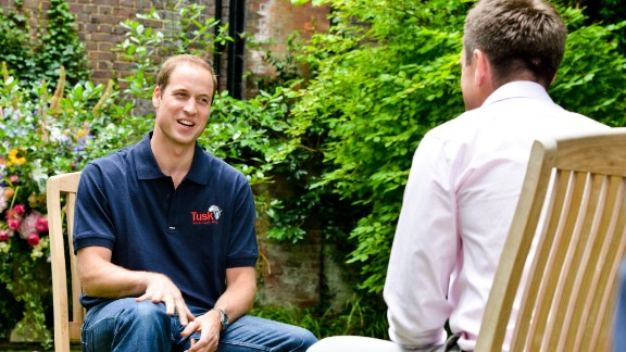 Prince William tells CNN