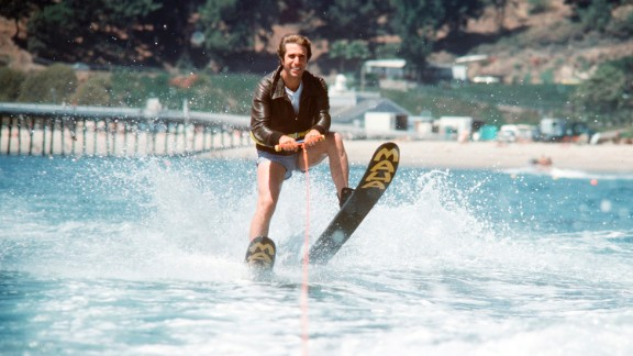 "Ever wondered where the phrase ""jumped the shark"" came from? You can thank the ""Happy Days"" writers for that one. In 1977, the beloved show took a plot turn it couldn"
