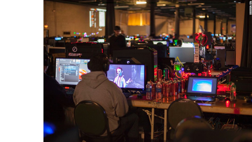 "At QuakeCon, a massive gaming gathering in Dallas this month, 2,800 gamers brought their own computers, often ""modding"" them for looks, performance or both. Here are some of our favorites."