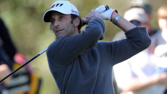 Jackson rates musician Kenny G -- seen here are the AT&T Pebble Beach National Pro-Am in 2011 -- as the best amateur golfer he has played against.
