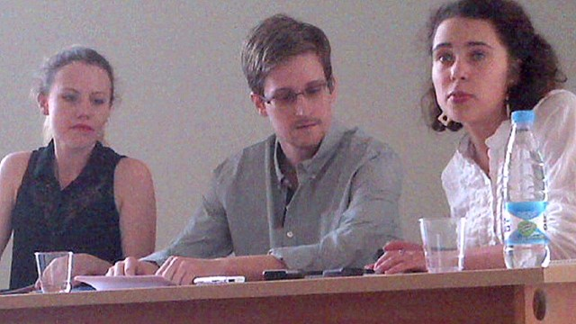 Snowden: My father doesn't represent me