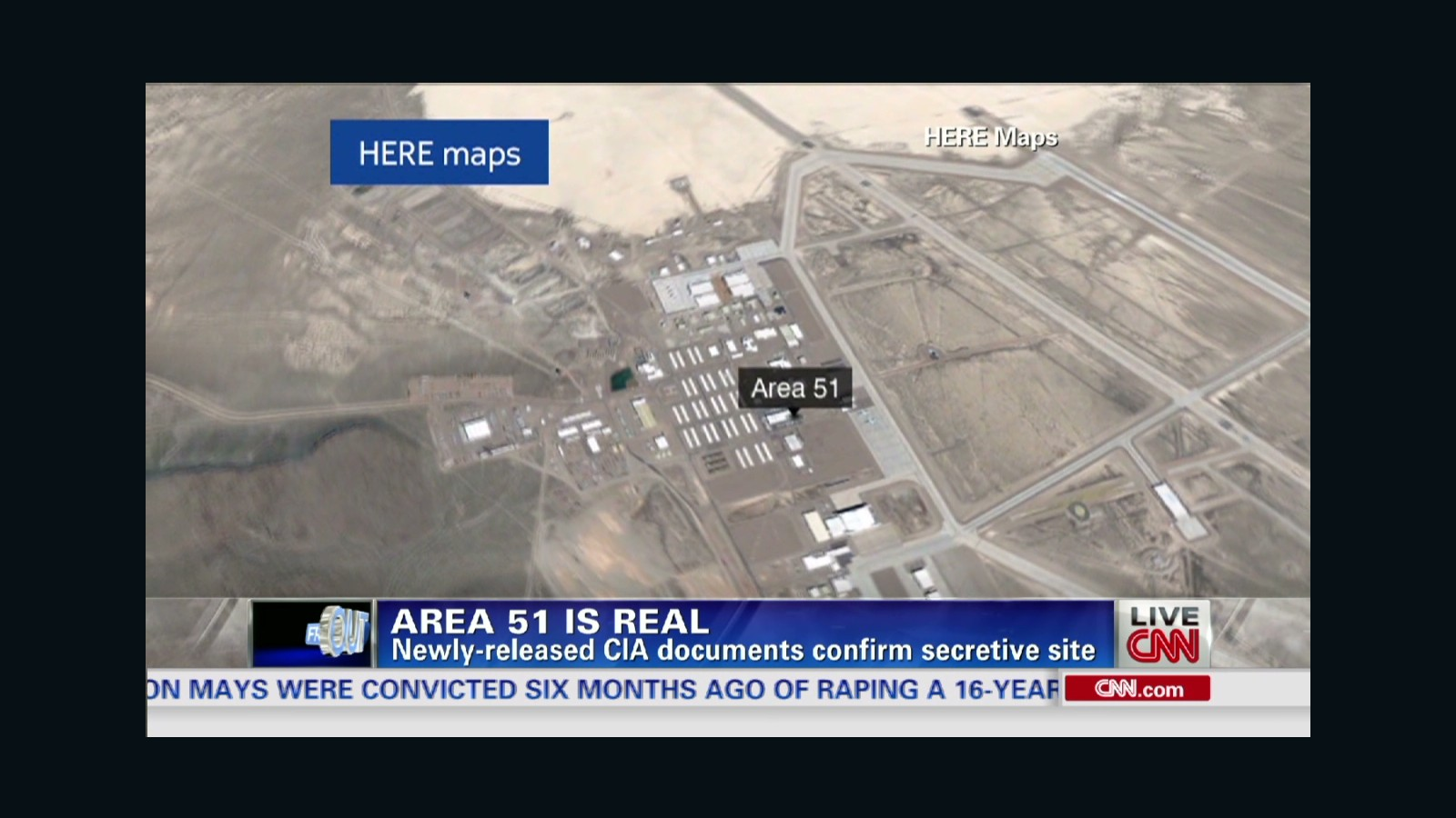 Area 51 Is Real But Sorry No Aliens Cnn Video