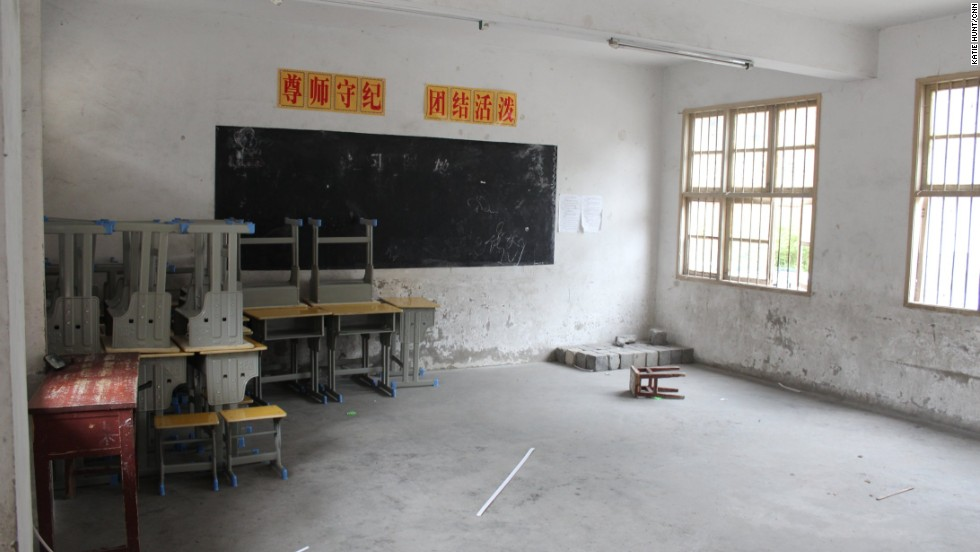 Rural schools are often run down and under funded but Dali's children got a new elementary school building in 2007. According to the Rural China Education Foundation, nearly half of rural children in some areas don't go to high school.