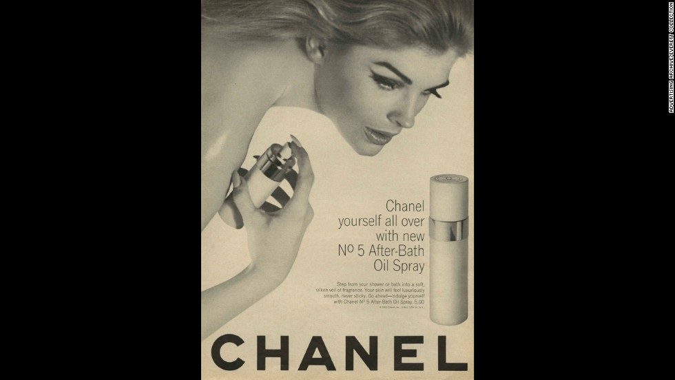 Chanel No. 5 debuted an after-bath oil spray in the mid-1960s.