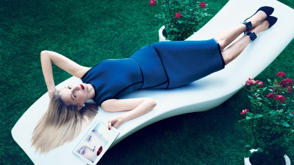 Yahoo CEO Marissa Mayer made waves with a flirty photo session for her 3,000-word Vogue profile. Other top execs wanna have fun too. Click through the gallery for more business leaders who like to let their hair down.