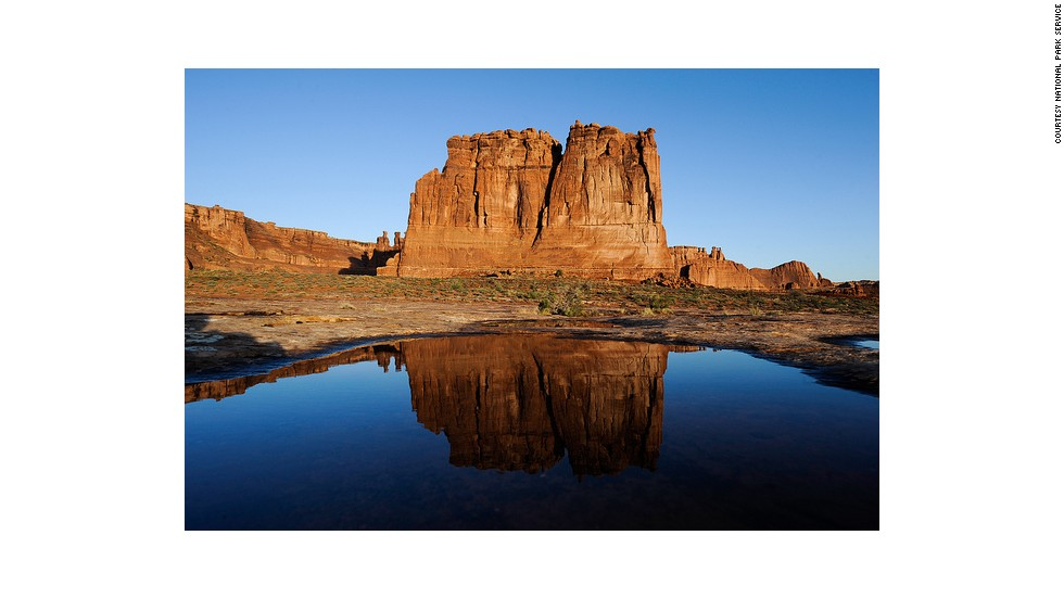 "<a href=""http://www.cnn.com/2013/08/22/travel/arches-summer-park/index.html"">Arches National Park</a> is one of 401 National Park Service sites to close to visitors during the government shutdown."