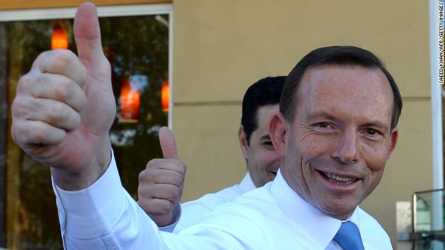 Opposition leader Tony Abbott, a populist conservative, is known as a pugnacious presence in Australian politics.