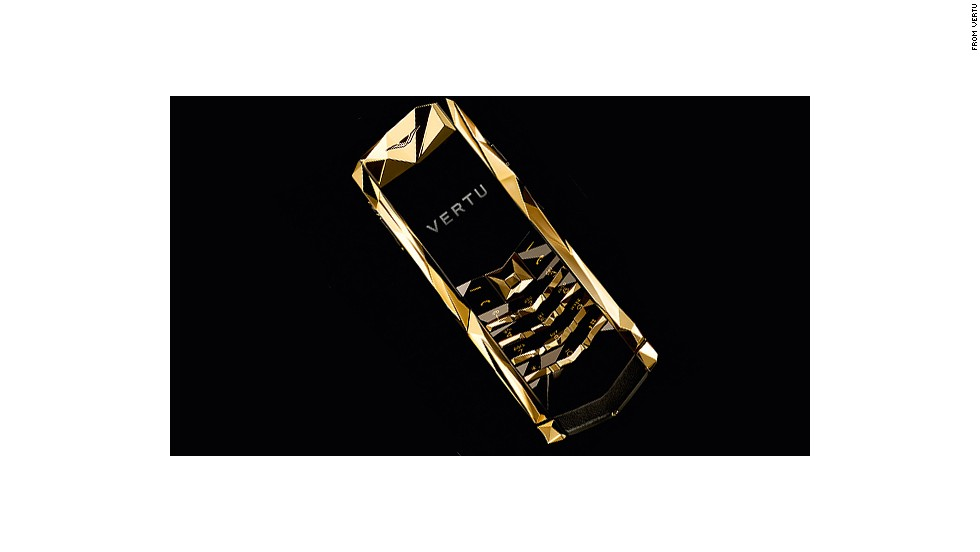 "<a href=""http://www.vertu.com/en/"" target=""_blank"">Vertu</a> was Nokia's luxury phone arm before the Finnish phone maker sold it off. It has covered phones in gold, titanium, leather, gems and decorative dragons. ""Gold is a color that is always in demand,"" says Vertu CEO Massimiliano ""Max"" Pogliani."