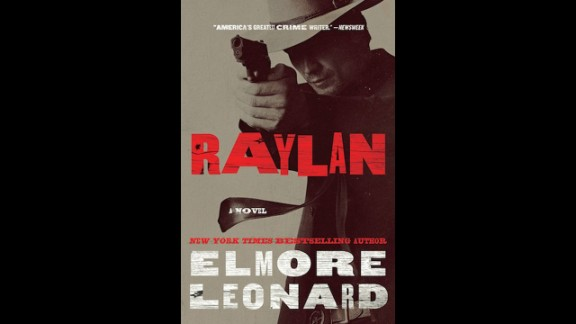 "The cover of Leonard's 2012 novel ""Raylan"" features Olyphant as the lead character, Raylan Givens."