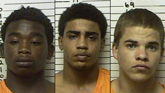***** Don't use on future stories******* James Edwards Jr, Chancey Luna and Michael Jones were charged in the death of Christopher Lane.