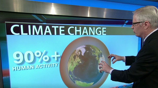 Scientists 95% sure on climate change
