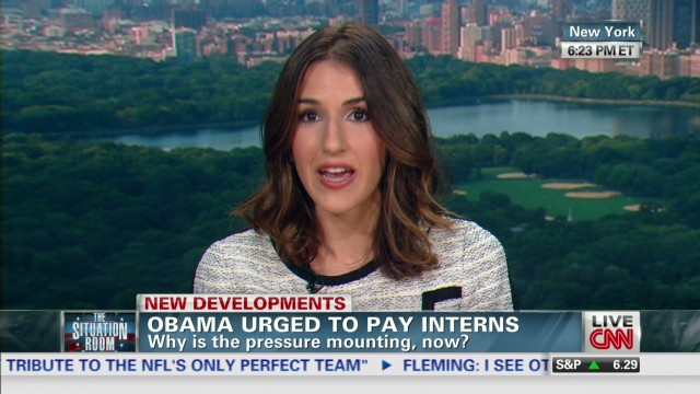White House urged to pay interns
